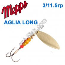 Блесна Mepps Aglia long zota-gold 3/11,5g