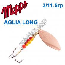 Блесна Mepps Aglia long miedzianna-cooper 3/11,5g