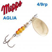 Блесна Mepps Aglia zota-gold 4/9g