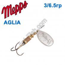 Блесна Mepps Aglia srebrna-silver 3/6,5g