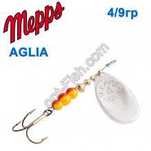 Блесна Mepps Aglia srebrna-silver 4/9g