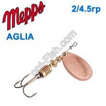 Блесна Mepps Aglia miedzianna-cooper 2/4,5g