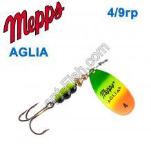 Блесна Mepps Aglia fluo tiger 4/9g