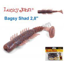 Виброхвост 3,9 Bagsy Shad LUCKY JOHN*5 140108-S19