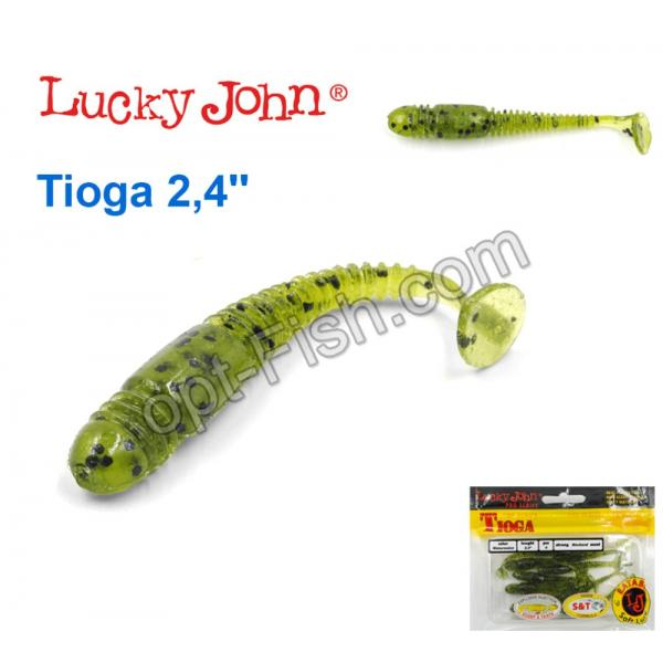 купить силиконовые приманки lucky john tioga