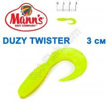 Силикон Manns Twister FCH-035-30мм (20шт)