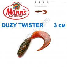 Силикон Manns Twister MFMO-035-30мм (20шт)