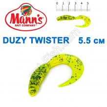 Силикон Manns Twister CHP-037-55мм (20шт)