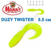 Силикон Manns Twister FCH-037-55мм (20шт)