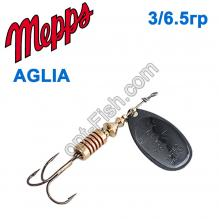 Блесна Mepps Aglia czarna-black 3/6,5g