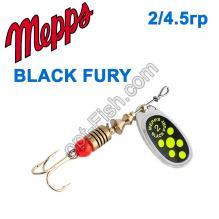 Блесна Mepps Black fury srebrny/seledynowe-chartr. 2/4,5g
