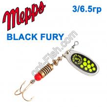 Блесна Mepps Black fury srebrny/seledynowe-chartr. 3/6,5g