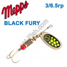 Блесна Mepps Black fury zloty/seledynowe-chartr. 3/6,5g