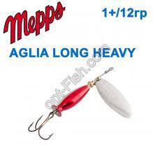 Блесна Mepps Aglia longheavy srebrna/srebr.korpus 1+/12g