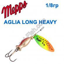 Блесна Mepps Aglia longheavy tiger 1/8g