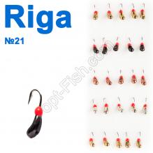 Мормышка вольф. Riga NEW 146025 №21 (25шт)