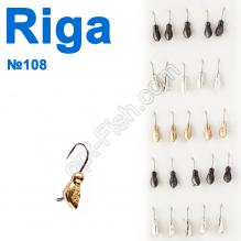 Мормышка вольф. Riga 137030 (25шт) №108