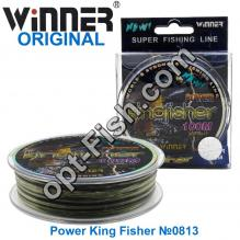 Леска Winner Original Power King Fisher №0813 100м 0,22мм *