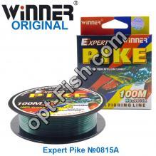Леска Winner Original Expert Pike №0815A 100м 0,16мм *