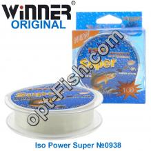 Леска Winner Original Iso Power Super №0938 100м 0,25мм *
