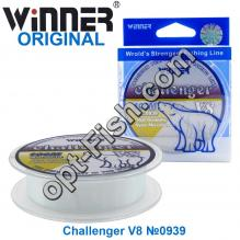 Леска Winner Original Challenger V8 №0939 100м 0,25мм *