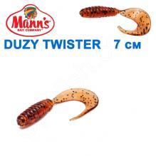 Силикон Manns Duzy Twister AS-038-70мм (20шт)