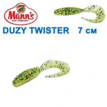 Силикон Manns Duzy Twister KUD-038-70мм (20шт)