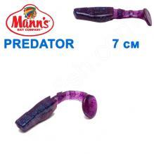 Силикон Manns Predator EG-056-70мм (20шт)