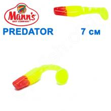 Силикон Manns Predator FCH-RN-056-70мм Czerwony Nos (20шт)