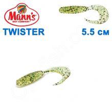 Силикон Manns Twister KUD-037-55мм (20шт)