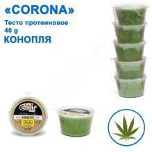 Тесто протеиновое Corona 40g конопля (5шт)