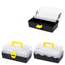 Ящик China с прозрачной крышкой (2 полки)