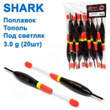 Поплавок Shark Тополь под светляк T2-30B1502L (20шт)