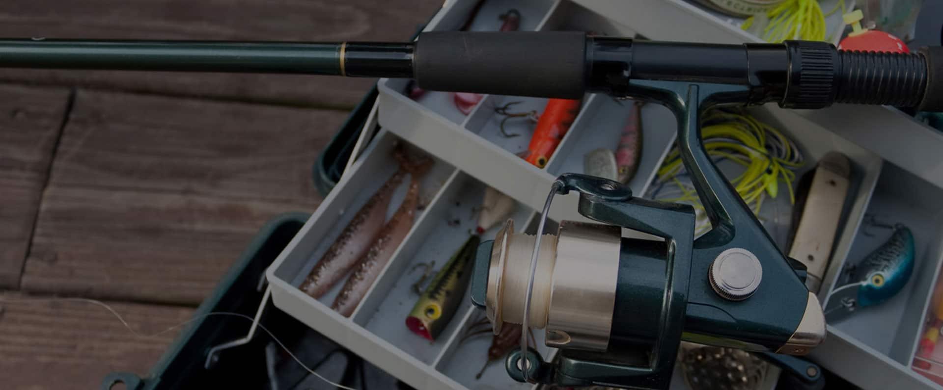 снасти для рыбалки купить