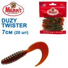 Силикон Manns Duzy Twister MO-038-70мм (20шт)