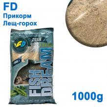 Прикорм FD лещ-горох 1кг
