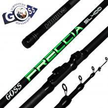 Удилище СК карбон GOSS Freccia Green 30-60g 4м NEW *