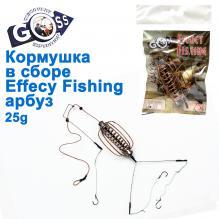 Кормушка в сборе Effect Fishing арбуз 25g
