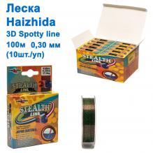 Леска Haizhida 3d Spotty line 100м 0,30мм *