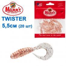 Силикон Manns Twister RFCL-037-55мм (20шт)