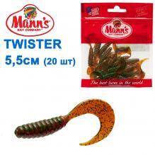 Силикон Manns Twister GNMFO-037-55мм (20шт)