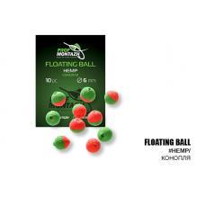 Плавающая насадка ПМ Floating Ball 6мм Конопля