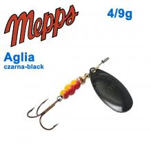 Aglia czarna-black 4/9g