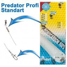 Поводок флюорокарбон Predator Profi Standart (24шт) 9кг *