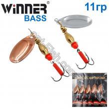 Блесна Winner вертушка WP-002 BASS 11g 003# *