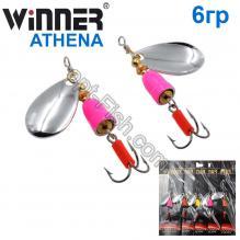 Блесна Winner вертушка WP-003 ATHENA 6g 001# *