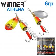 Блесна Winner вертушка WP-003 ATHENA 6g 018# *