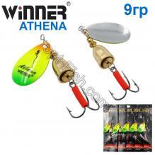 Блесна Winner вертушка WP-003 ATHENA 9g 005# *