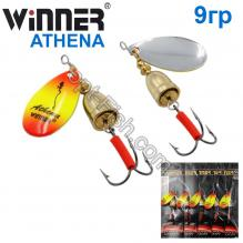 Блесна Winner вертушка WP-003 ATHENA 9g 018# *