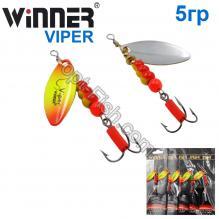 Блесна Winner вертушка WP-016 VIPER 5g 018# *